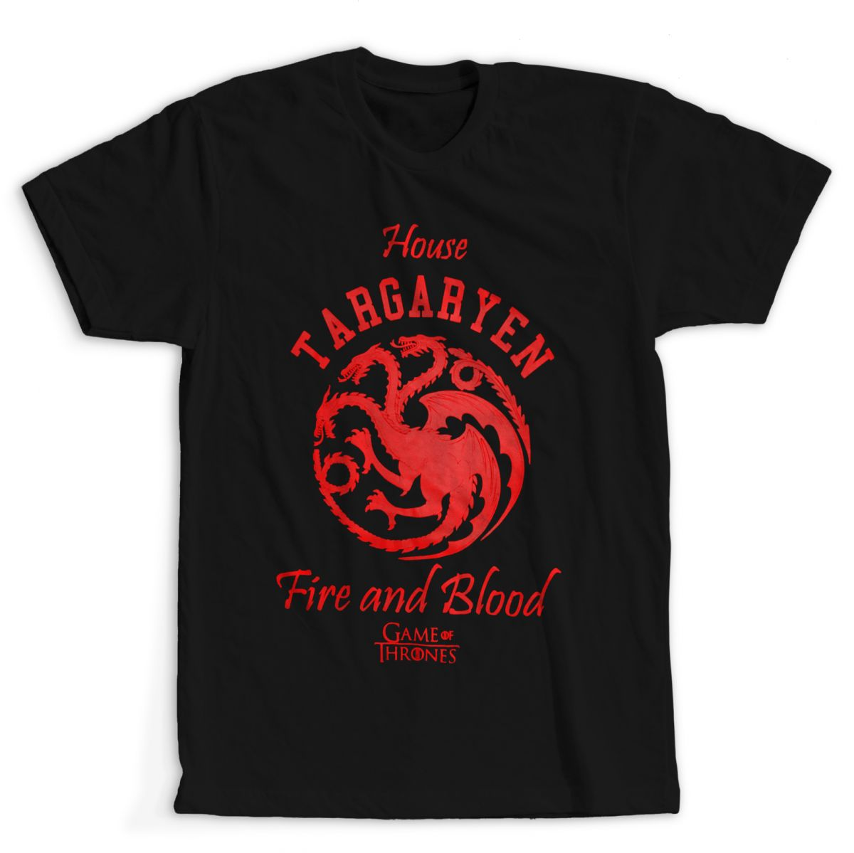 Camiseta Game of Thrones - Casa Targaryen