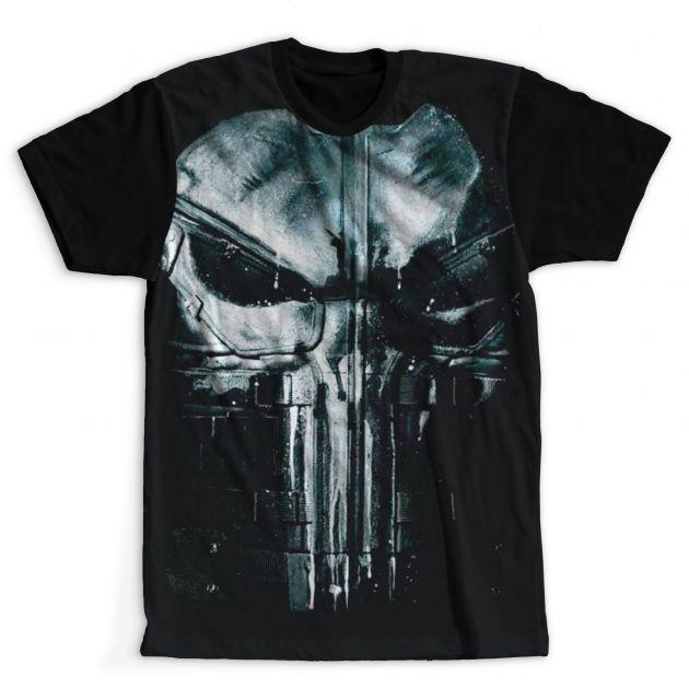 Camiseta Justiceiro Netflix