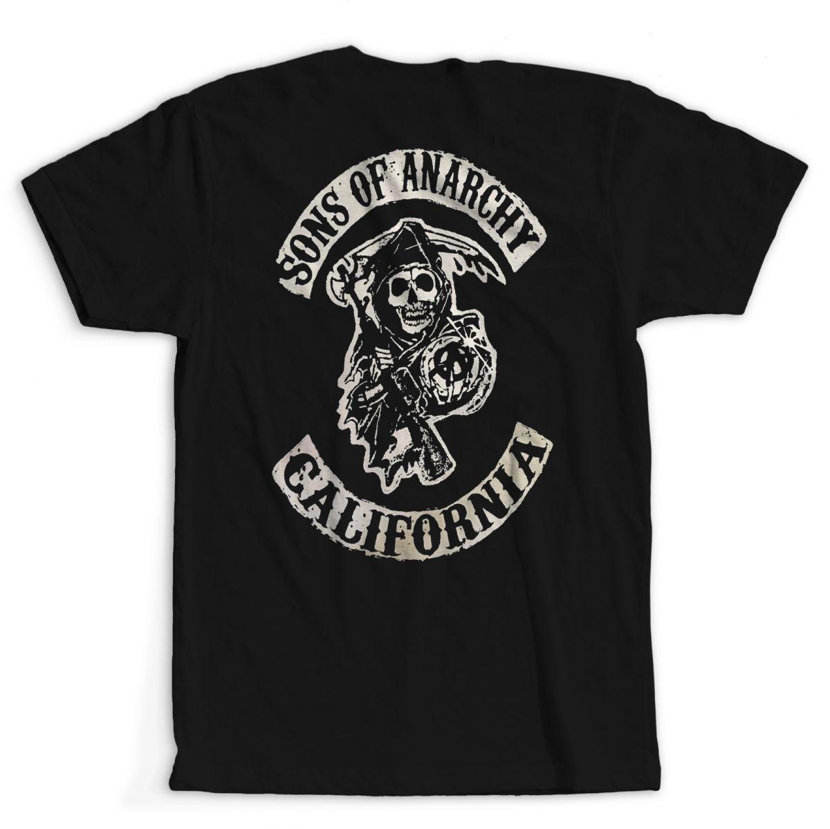 Camiseta Sons Of Arnachy (SAMCRO)
